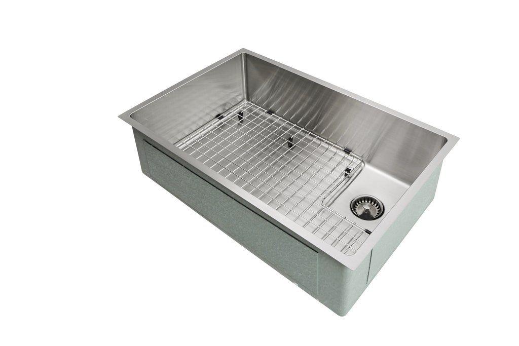 28 Sink Single Bowl Offset Drain Right 8 Depth 5s28r 8