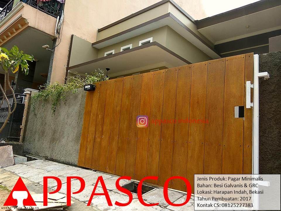 Pin By Appasco On Pagar Minimalis Garage Doors Doors