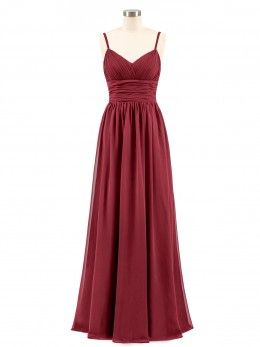 49dc8c8ccb0 Burgundy Babaroni Lindsay Bridesmaid Dresses