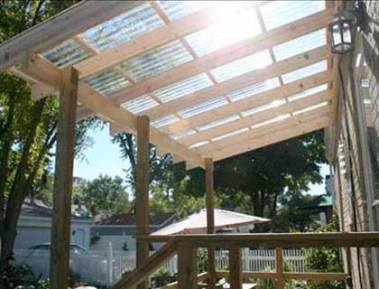 Diy Installation Video Porch Roof Design Backyard Porch Pergola