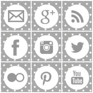 B You Blog Design 25 Free Social Media Icon Sets Social Media Icons Free Social Media Icons Blog Design