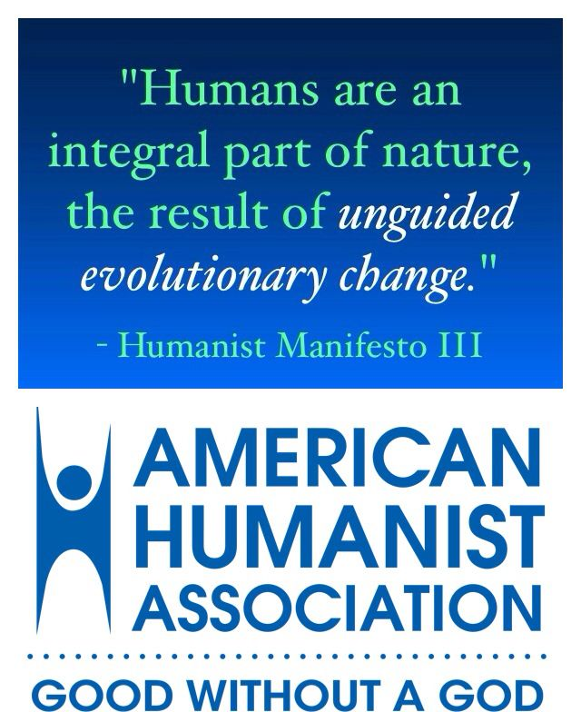 Humanists think that humans are the result of unguided - agenda creator