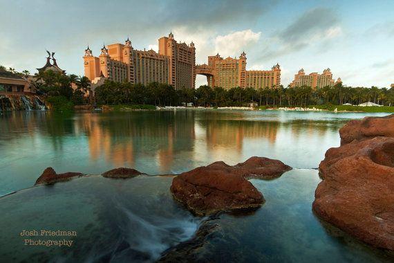 Atlantis Royal Towers and Reflection Bahamas by JoshFriedmanPhoto