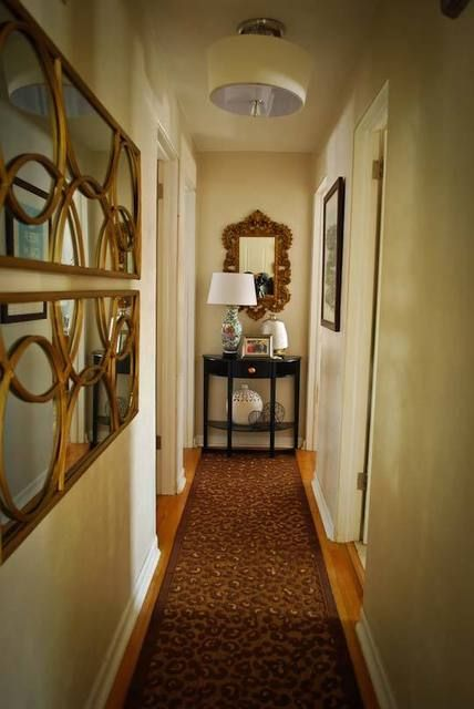 Joi David S A Illusion Of Luxury House Tour Narrow Hallway Decorating Foyer Decorating Hallway Decorating