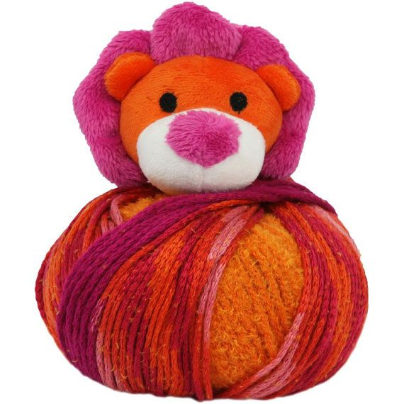Lion Knitting Hat Kit Beanie Hat Kit Includes Yarn And Plush