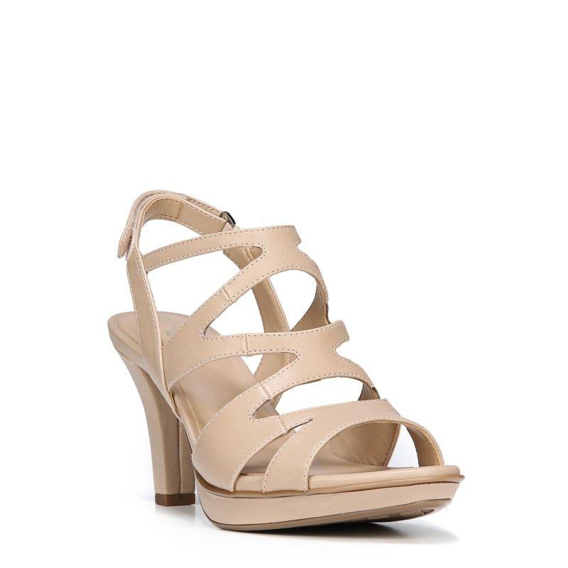 74dd888f9df Naturalizer Women s Dianna Medium Wide Dress Sandals (Taupe Smooth ...