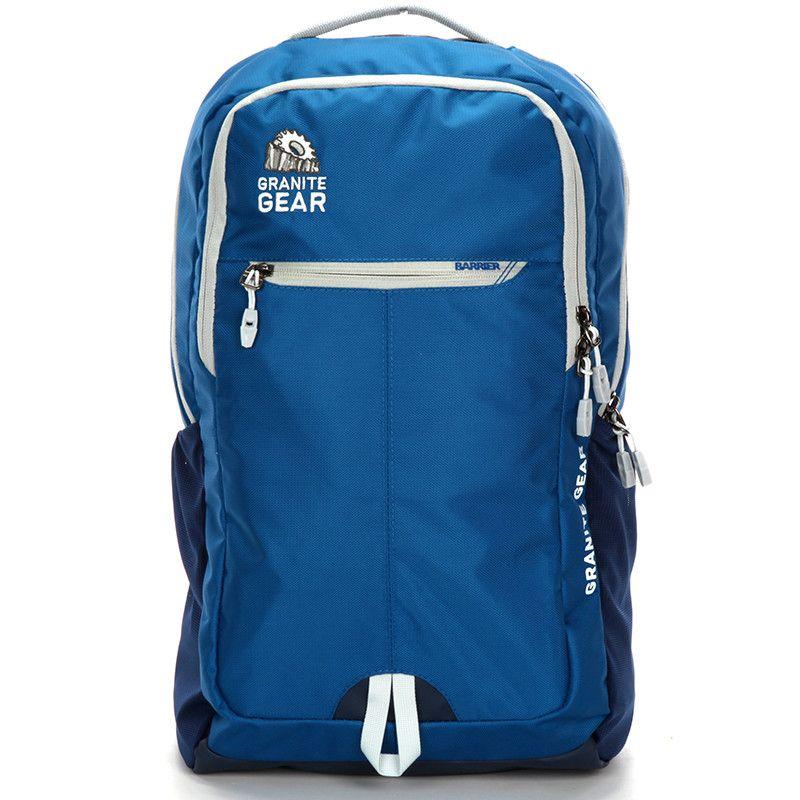 8858a320cd Univerzální vodě odolný cestovní a školní modrý batoh - Granite Gear ...