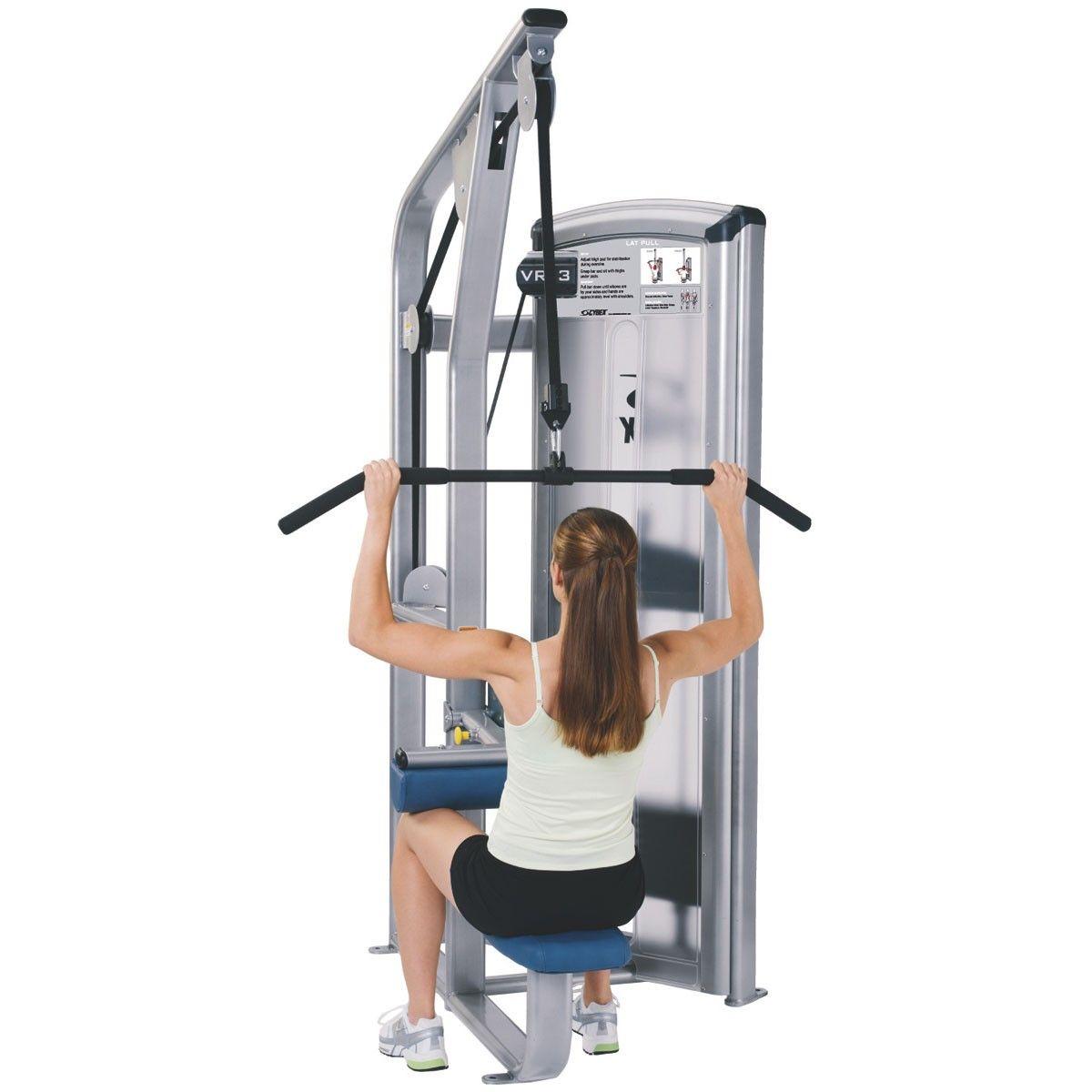 Cybex Treadmill Weight Loss Program: Cybex Club 1 Cybex Vr3 Lat Pulldown