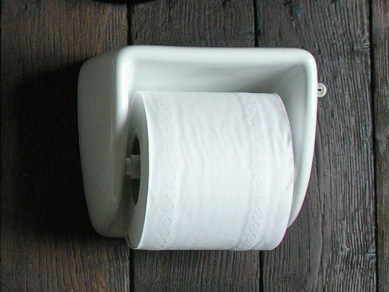 Loo roll holder porcelain bathroom pinterest loo roll holders porcelain and toilet roll - Ceramic recessed toilet roll holder ...