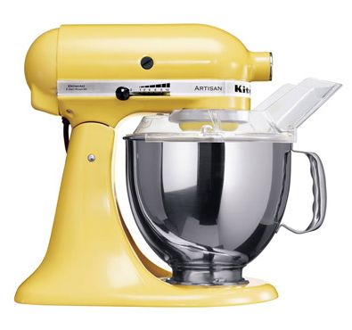 Yellow Kitchen Aid - I want this!