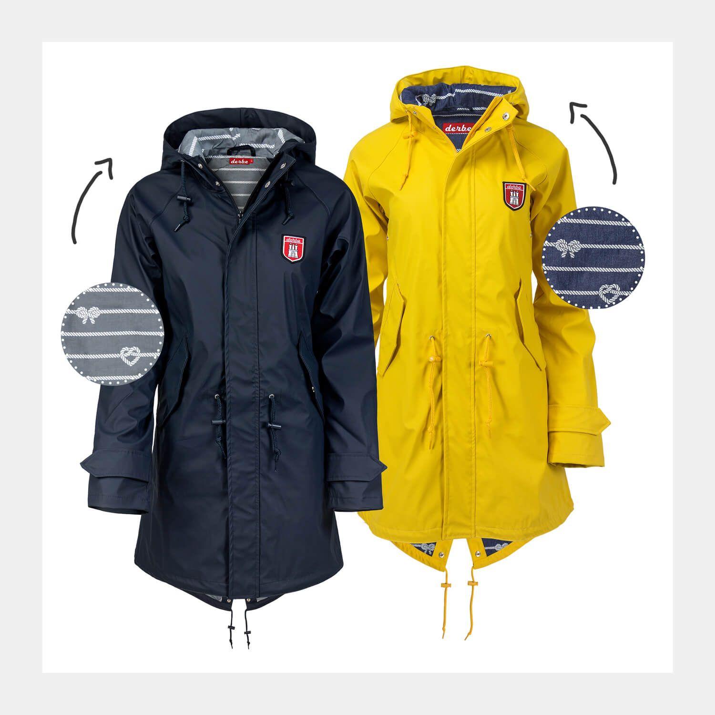 Mantel mit Kult von Der ist zwei DerbeDer Regenmantel 5ARL4j3