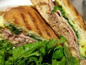 The Cuban sandwich is a guy favorite.