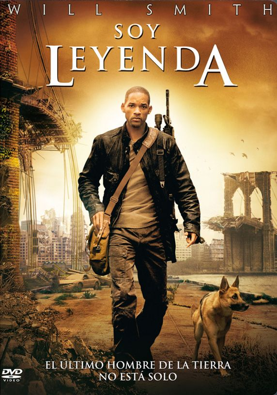 """Soy leyenda"" - ""I am legend"" (Dirigida por Francis Lawrence - 2007 - EE.UU). http://www.youtube.com/watch?v=UPLdKWKb6zc"