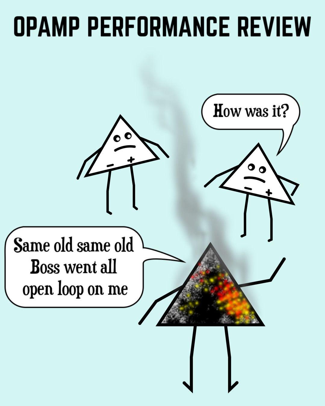 another electronics joke electronics opamp humor [ 1080 x 1350 Pixel ]