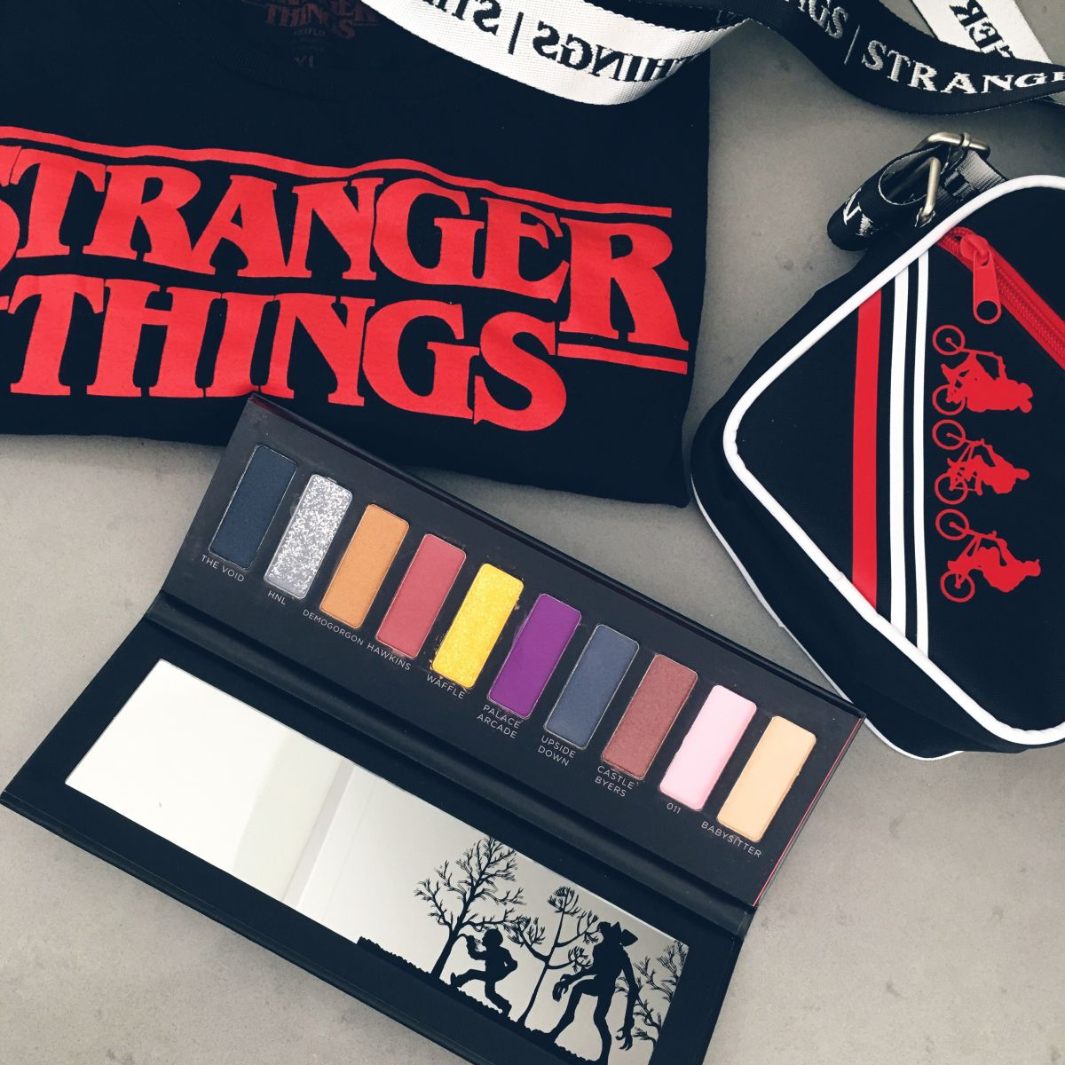 STRANGER THINGS Makeup Palette and Style Makeup palette