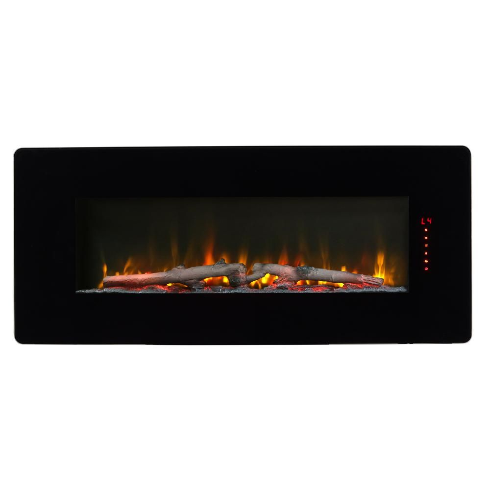 Dimplex Winslow 42 In Wall Mount Tabletop Linear Electric Fireplace In Black Swm4220 The Home Depot In 2020 Wall Mount Electric Fireplace Electric Fireplace Dimplex
