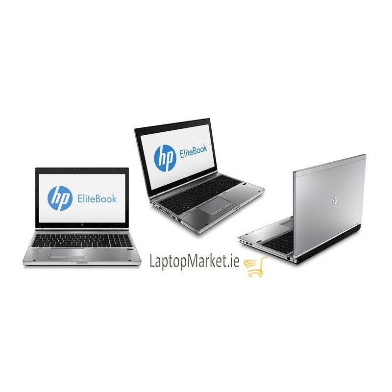 HP EliteBook 8570p, Metallic Silver 15 6