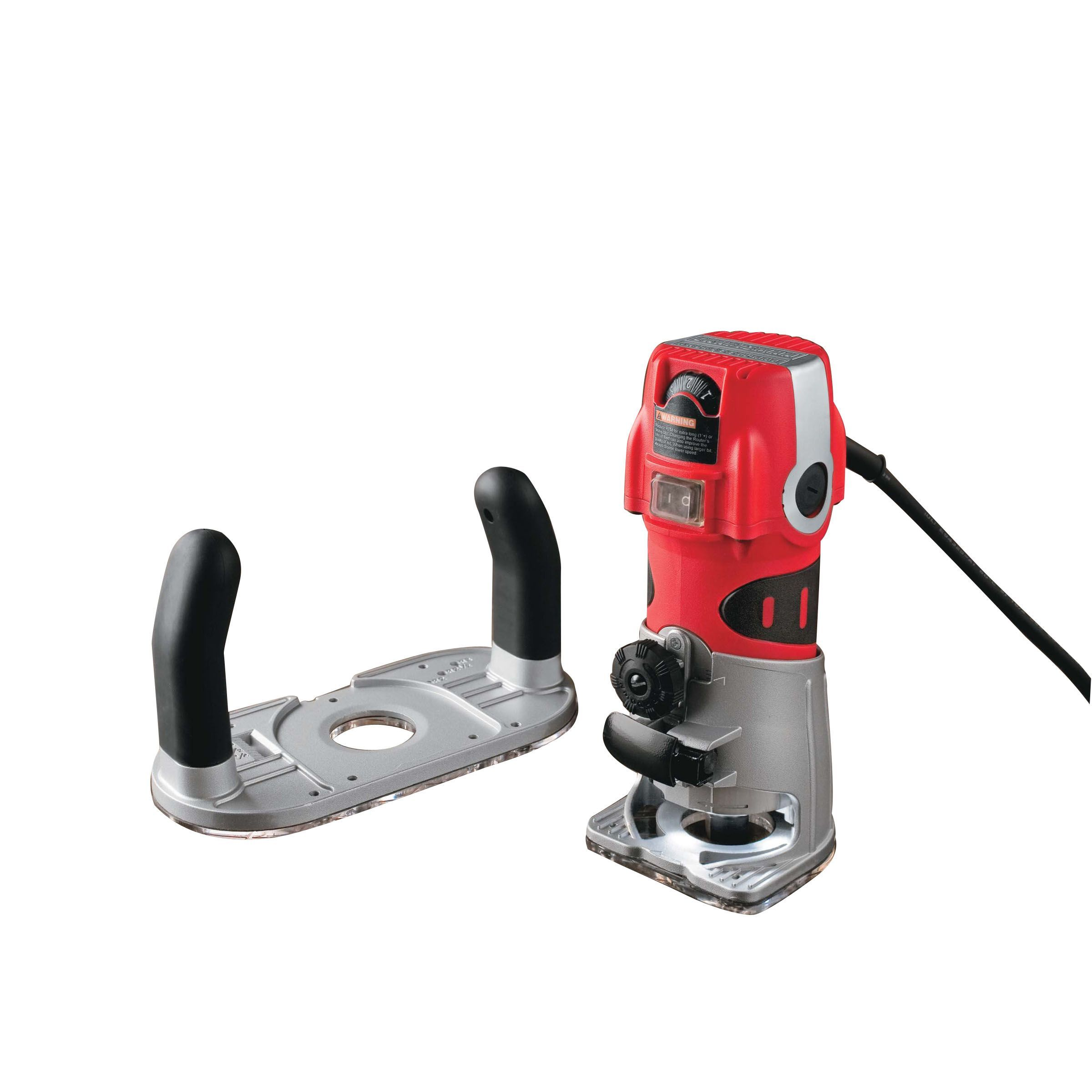 Craftsman Professional 28212 6 5 Amp Corded Fixed Base Palm Router Tools Corded Handheld Power Tools All Corde Cordless Power Tools Craftsman Router Tool