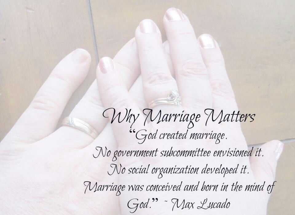 Christian Marriage Quotes Classy Christian Marriage ~ Why Marriage Matters Quotemax Lucado . Inspiration Design