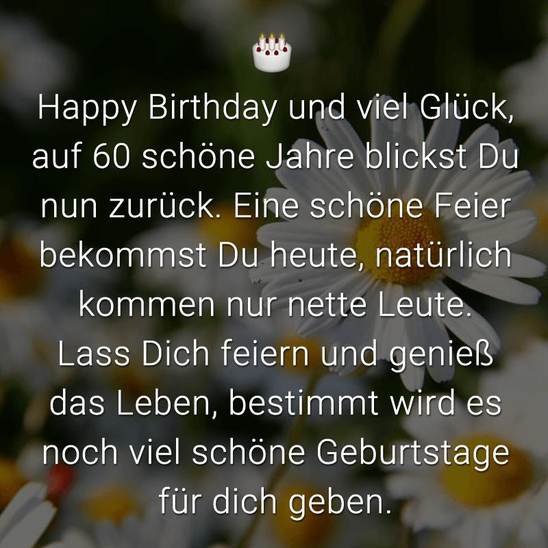 Gedichte Zum 60 Geburtstag 11 St 100 Erlesen