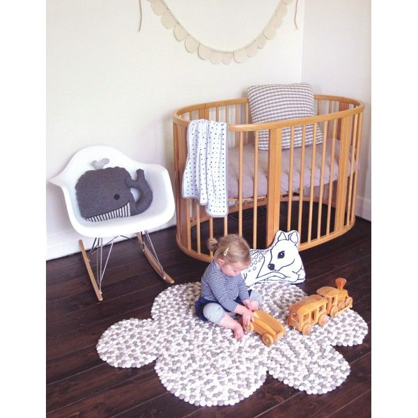 Cloud Felt Ball Rug Everything To Do With Babys Kid