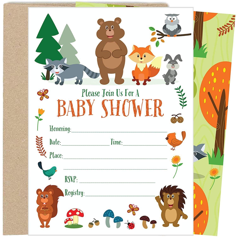 Free Nursery Printables: Animal Set of 4   Baby nursery ...  Woodland Creature Baby Shower Quotes