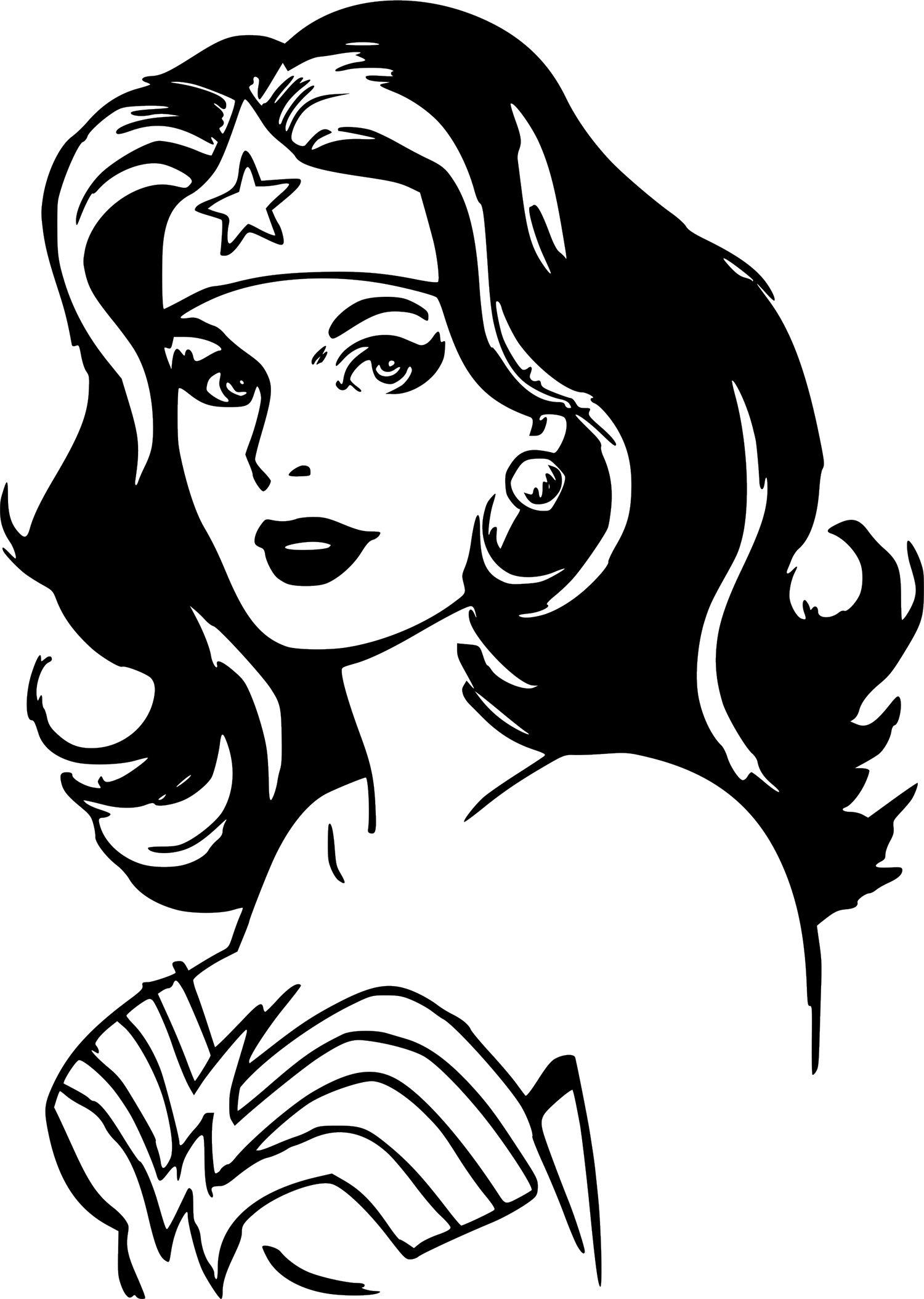 Wonder woman dc comics vinyl sticker decal