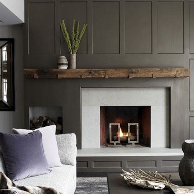 Amazing Perfection Fireplace Part - 13: Fireplace Wall · Rustic Perfection
