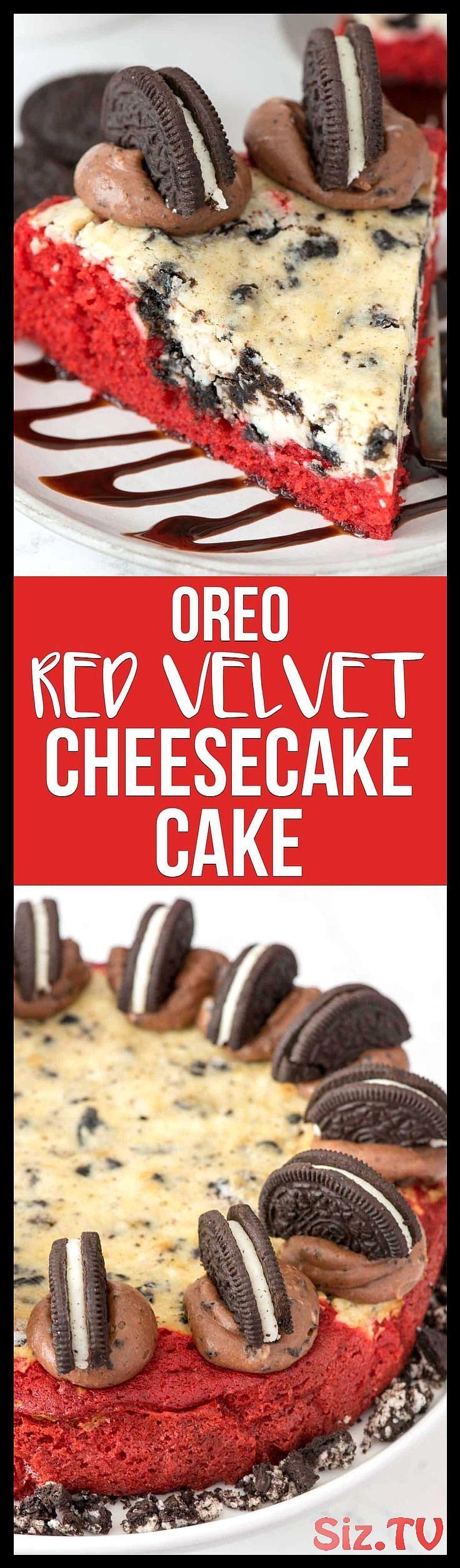 Red Velvet Oreo Cheesecake Cake    dieses dekadente Kuchenrezept kombiniert hausgemachten    Red Velvet Oreo Cheesecake Cake    dieses dekadente Kuchenrezept kombiniert hausgemachten    Red Velvet Oreo Cheesecake Cake    dieses dekadente Kuchenrezept kombiniert hausgemachten roten Samtkuchen mit einer K  seschicht Schokoladen-Frischk  se-Zuckerguss und OREOS    ber Crazy for Crust   Einfache Rezepte f  r jede Mahlzei #cheesecake #dekadente #dieses #hausgemachten #kombiniert #kuchenrezept #velvet #redvelvetcheesecake