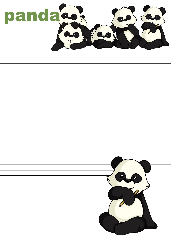Pretty paper panda templates images gallery 10 papercutting tips letter paper printable panda letterpaper by battleangelmel letter maxwellsz