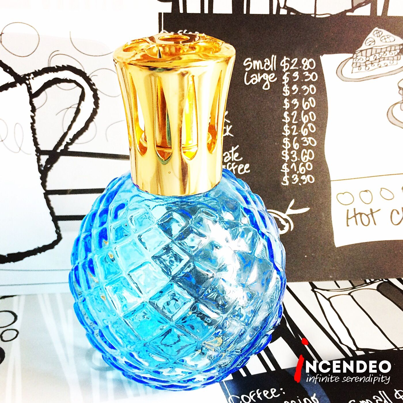 Lampe Berger Light Blue Pineapple Fragrance Diffuser Lampeberger Paris France Pineapple Fragrance Essentialoils Diffuser L Perfume Bottles Perfume Ale