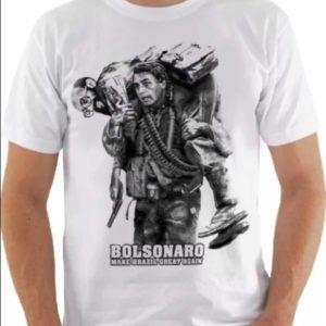 Camiseta Bolsonaro - O resgate do Enéas. camisa bolsonaro o resgate de  eneas camuflada. Carregando zoom. fd3aa228d2331