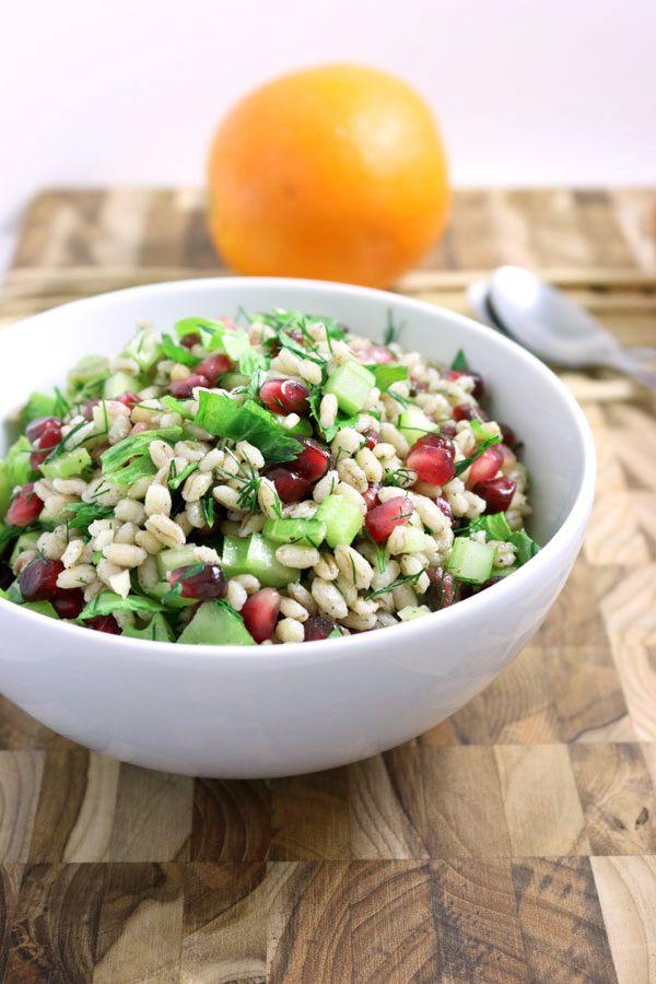 Barley-Pomegranate-Salad
