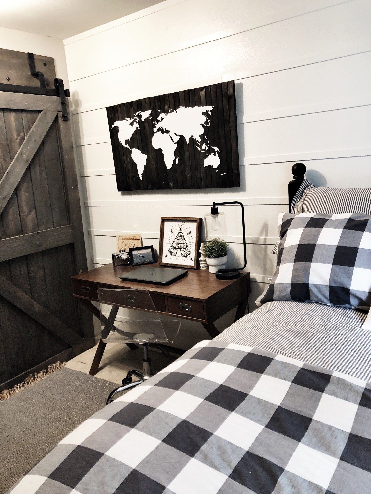 Boys Modern Farmhouse Bedroom Reveal Affordable Bedroom Decor Cool Bedrooms For Boys Modern Farmhouse Bedroom