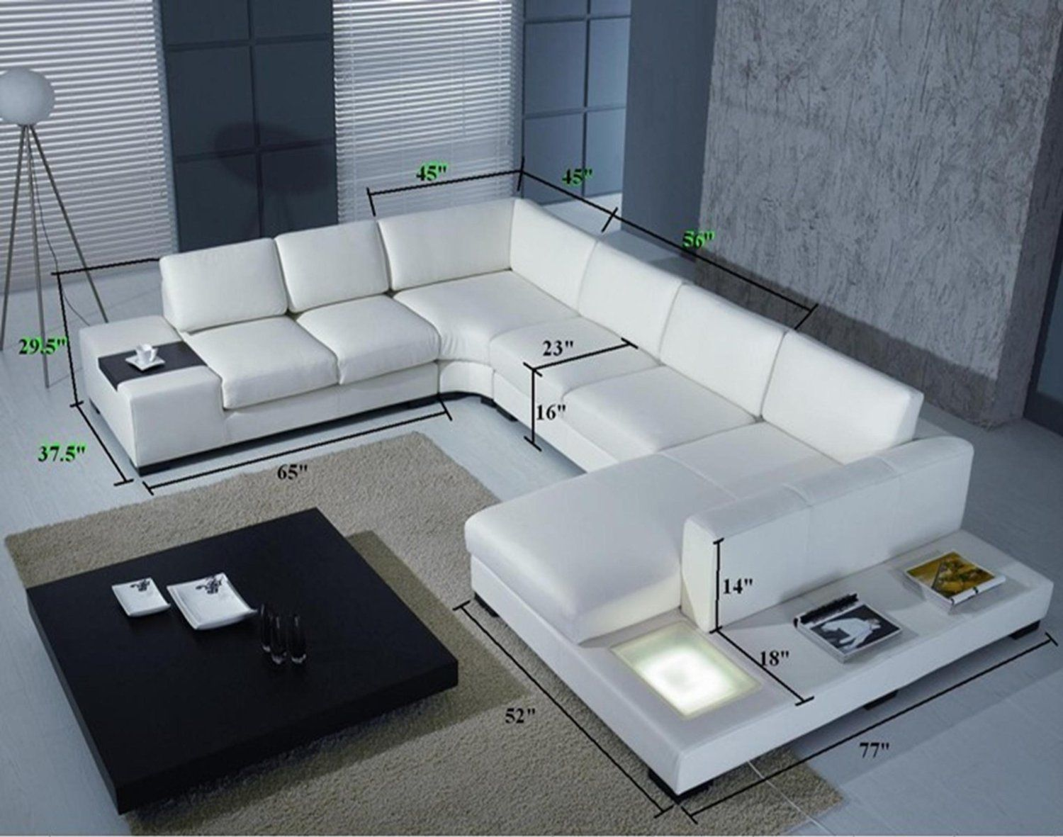 top grade real leather modern corner sofa ylcs customise to  - living room setshome kitchen  white bonded leather sectional living roomsetsthe white leather sectional sofa with two end tables reveals apioneering