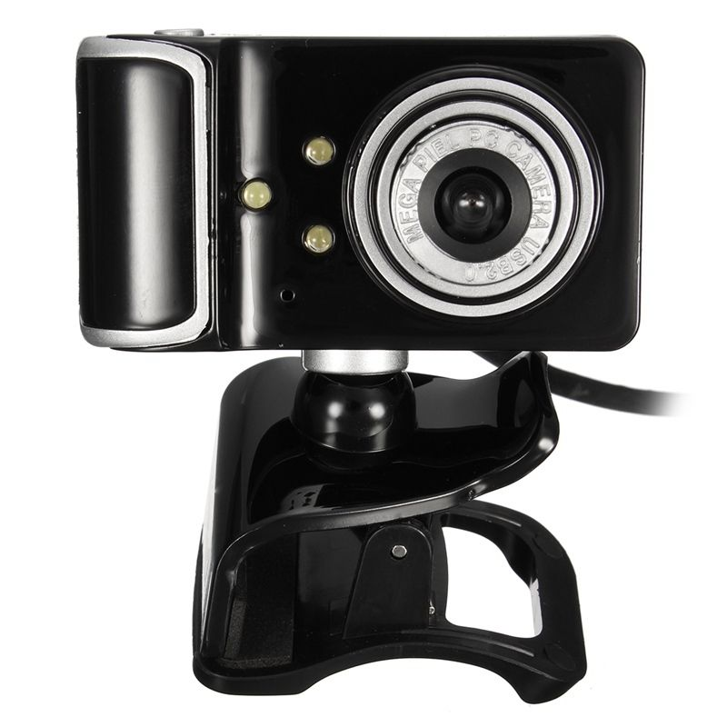 Hd web camera clip on 360 degree rotation usb webcam 3 led with hd web camera clip on 360 degree rotation usb webcam 3 led with microphone mic ccuart Images