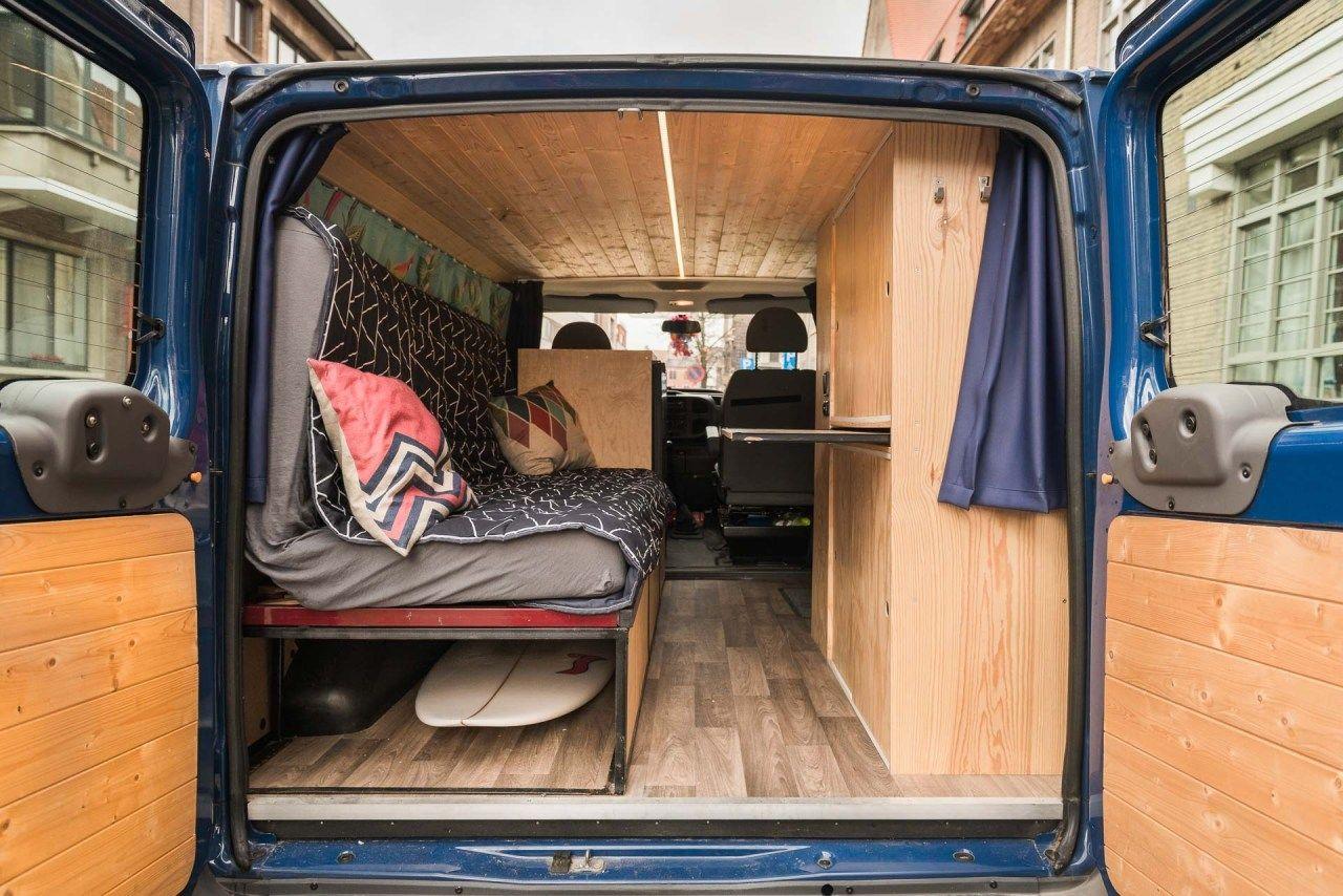 Bauanleitung: Bett im Wohnmobil o. Kastenwagen - Mein CamperAusbau