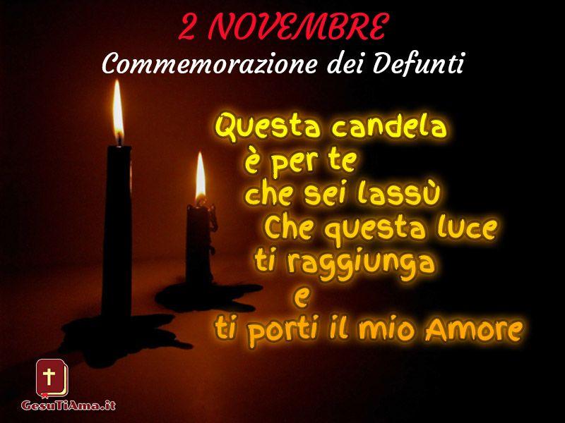 Immagini nuove per 2 Novembre Commemorazione dei Defunti | Candles, Movie  posters, Birthday