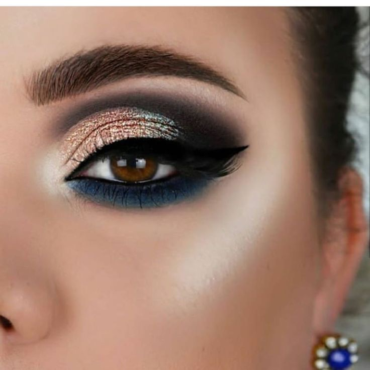 43 Awesome Chic And Glamour Eye Makeup Looks Ideas And Images For