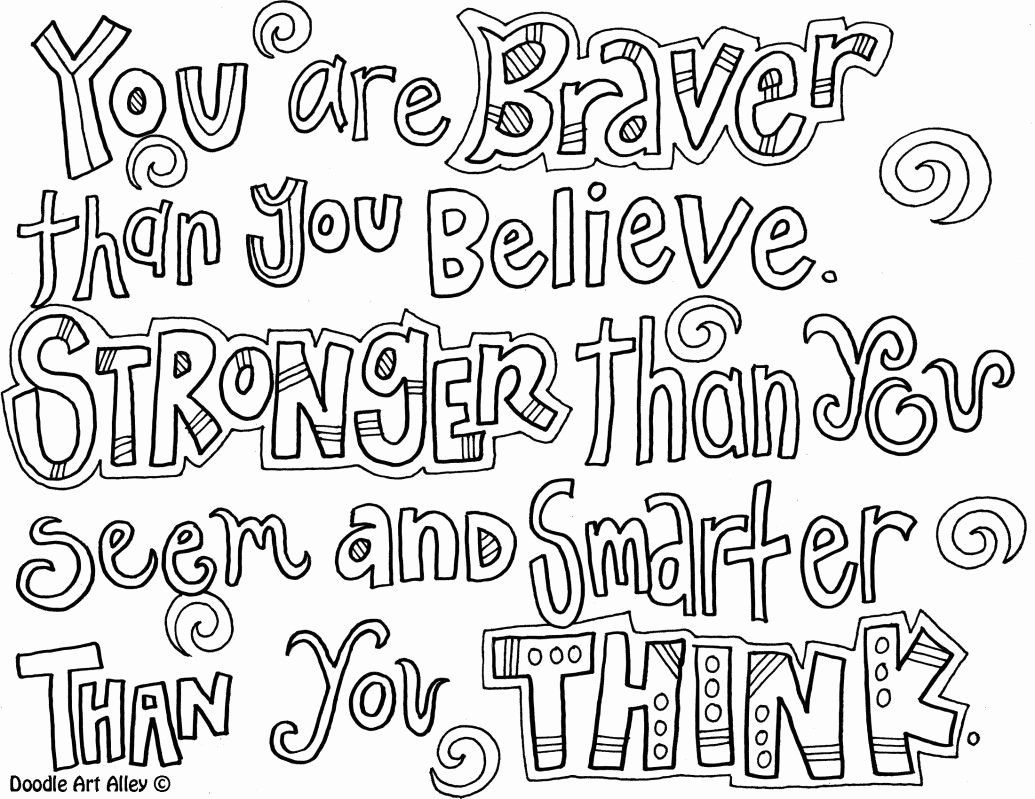 Disney Quote Coloring Pages Best Of You Are Braver Than You Believe Coloring Page Quote Coloring Pages Color Quotes Free Printable Coloring Pages