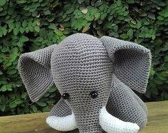Esther the Elephant Free Amigurumi Pattern   Jess Huff   194x244