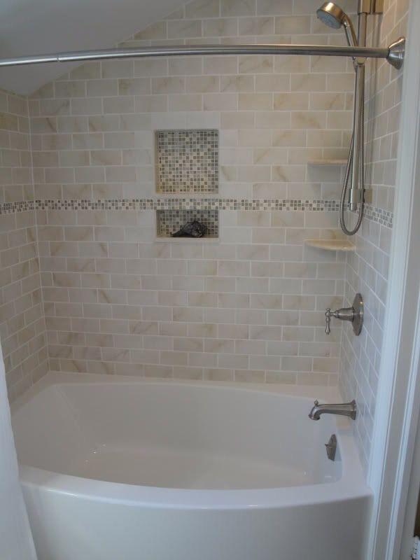 Guest Bath Bathtub Surround Bathtub Tile Bathrooms Remodel