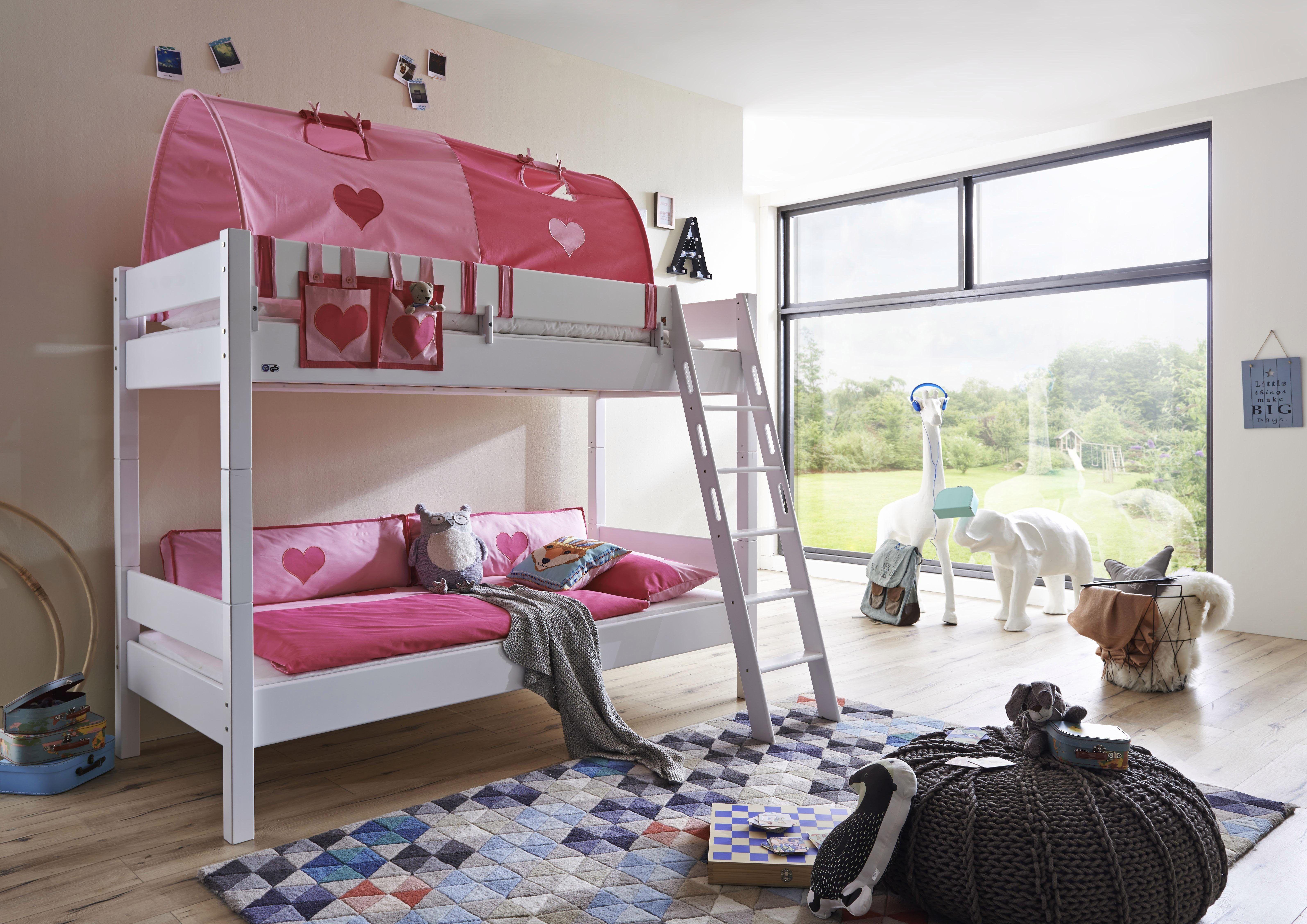 Etagenbett Rosa : Etagenbett mit rutsche hochbett rosa farbe dass einschliealich ta