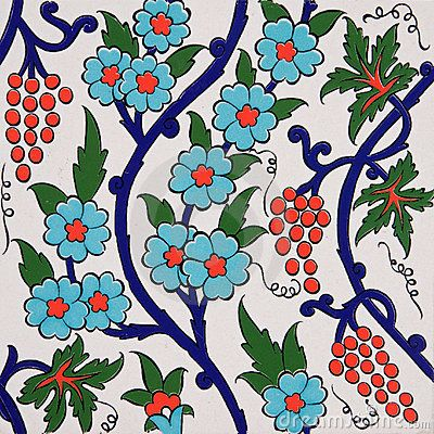 Color + gypsy asthetic? turkish tiles have a function?