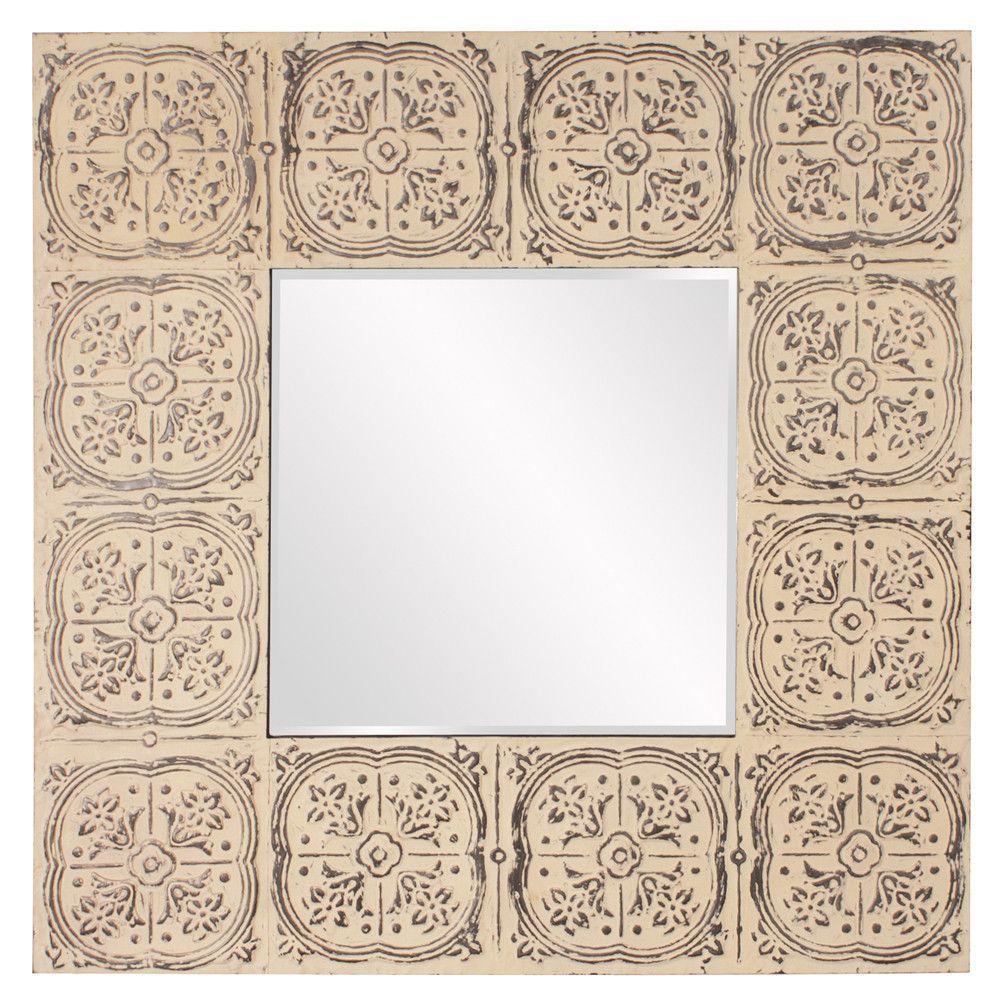 Upton Square Tile Mirror