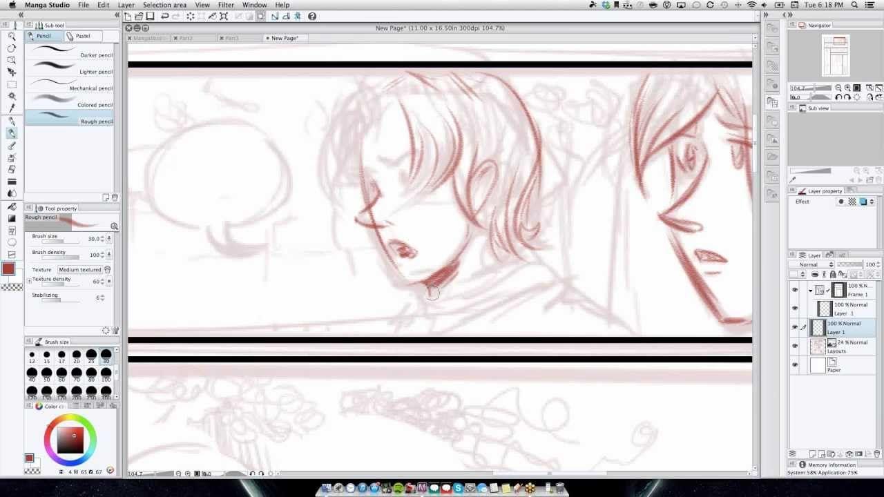 Manga Studio 5 Webinar Series Drawing Digital Comics For Beginners Session 1 Dibujos Free Fun