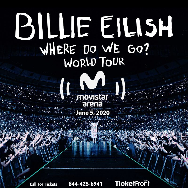 Billieeilish Movistararena Santiago Rm June 5 2020 6 00 Pm