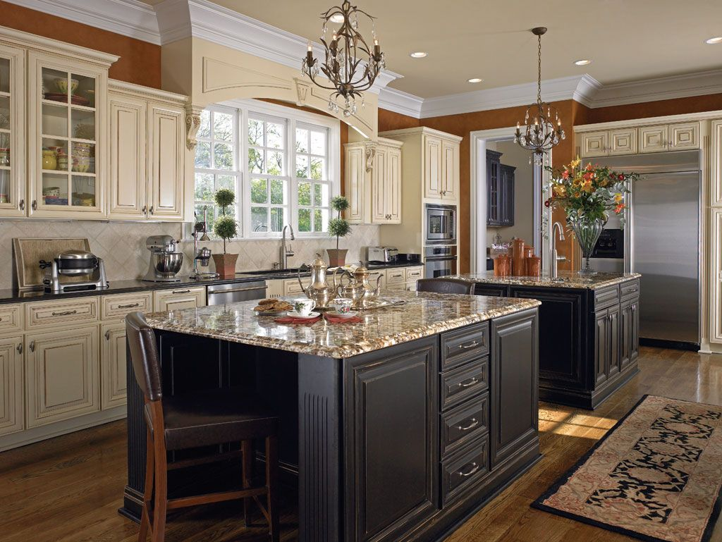 Showroom | Wellborn Forest    Color Of Cabinets With Gray Island