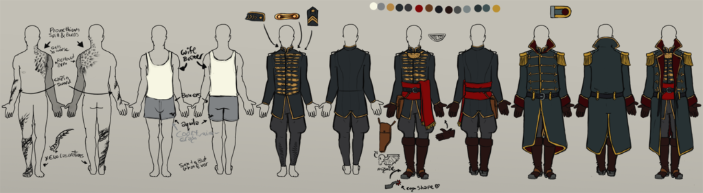 Character Reference: Commissar Uniform