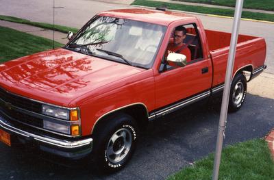 Red Chevrolet Silverado Truck Chevrolet Silverado Chevrolet